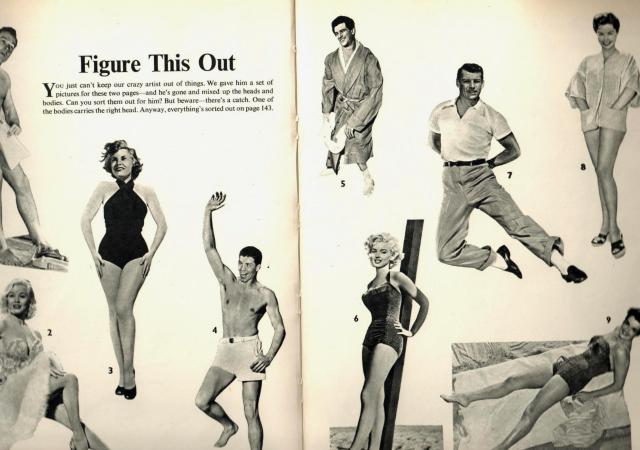 Figure this out -From Picturegoer Film Annual 1956-57 Edited by Robert Ottaway