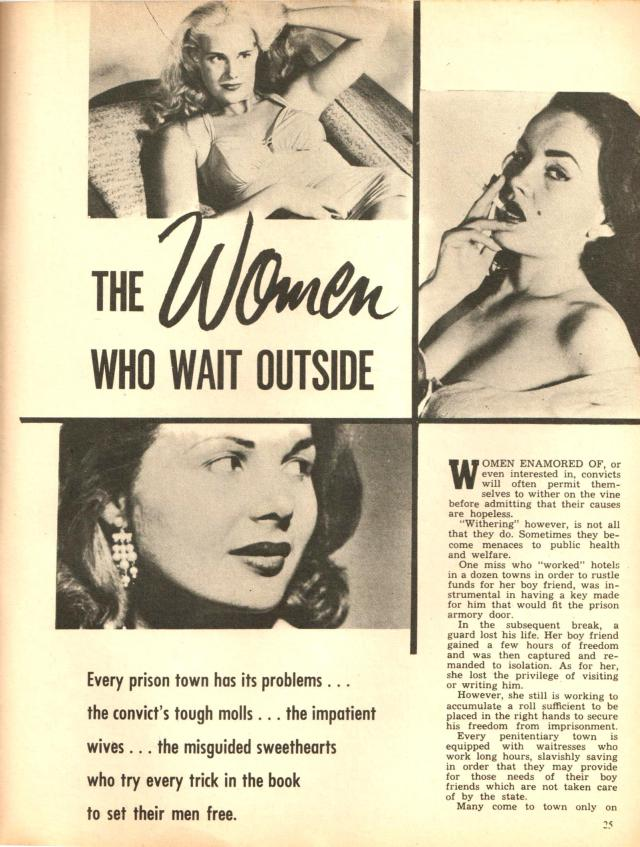 The Women Who Wait Outside from Detective No 21 Published by L Miller Copyright 1958