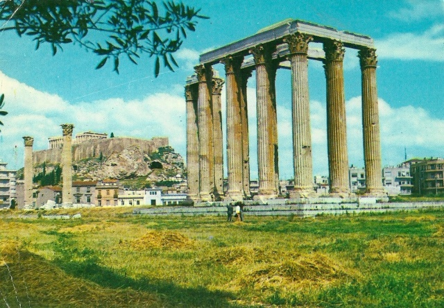 Athens postcard 11 September