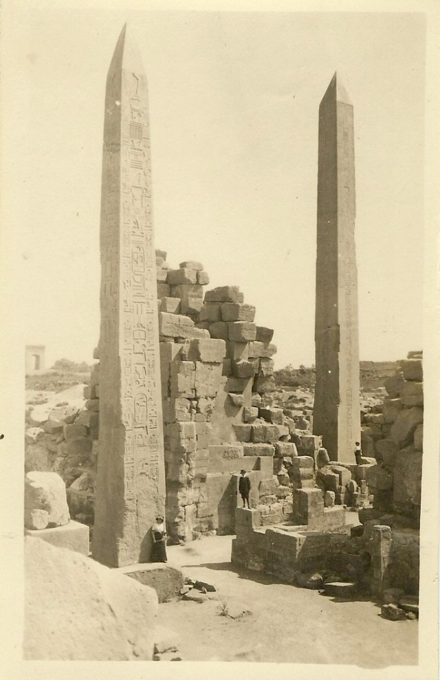 Karnak Temple Luxor Egypt BC1550 writing on the back hard to read date unknown suicide bomber tries to blow himself up there June 2015