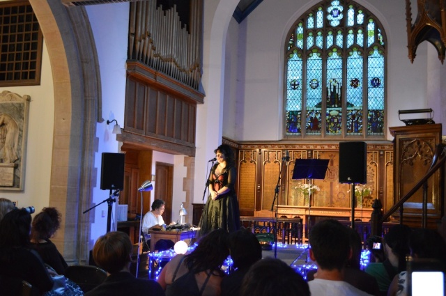 Kirsten Morrison at St Marys Stoke Newington