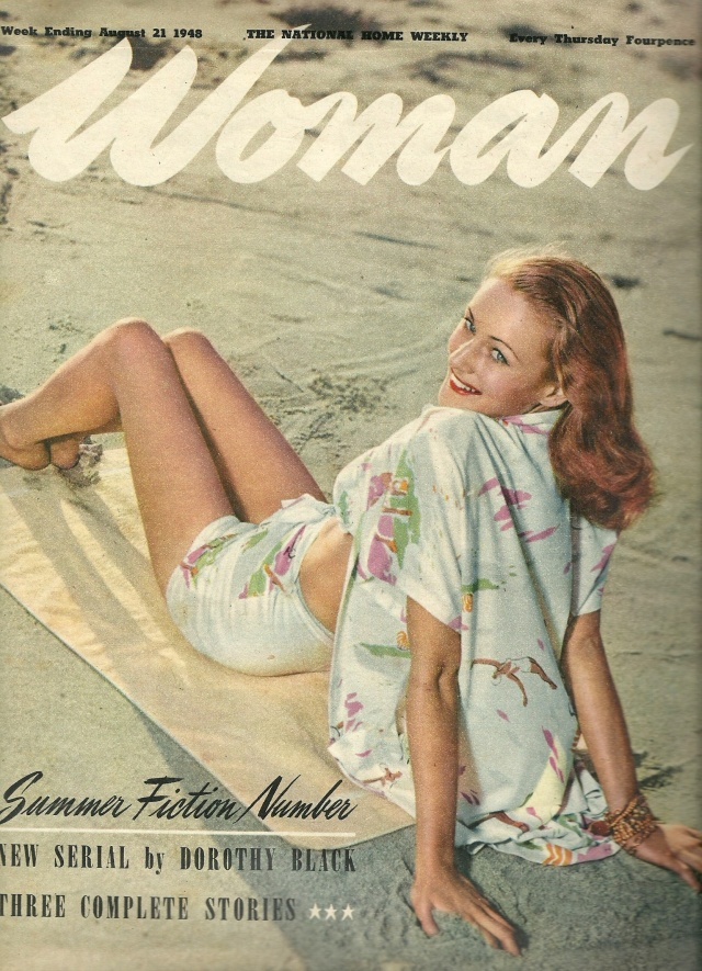 Woman Magazine Week Ending August 21 1948 printed in Great Britian by Odlhams (Watford) Ltd