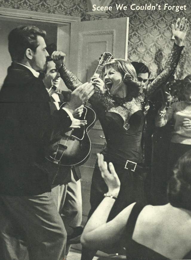 Scene We Couldn't Forget from Picturegoer Film Annual 1956-57 'wild, wild party in 'I Am A Camera!' Remember Julie Harris - as a gay British girl in pre-war Berlin