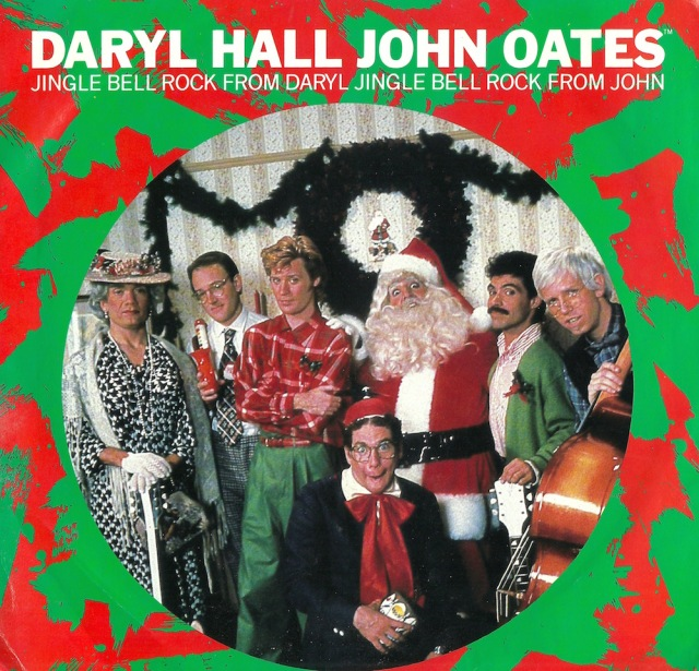 Season's Greetings from Daryl Hall John Oates copyright 1985 RCA:Ariola International New York