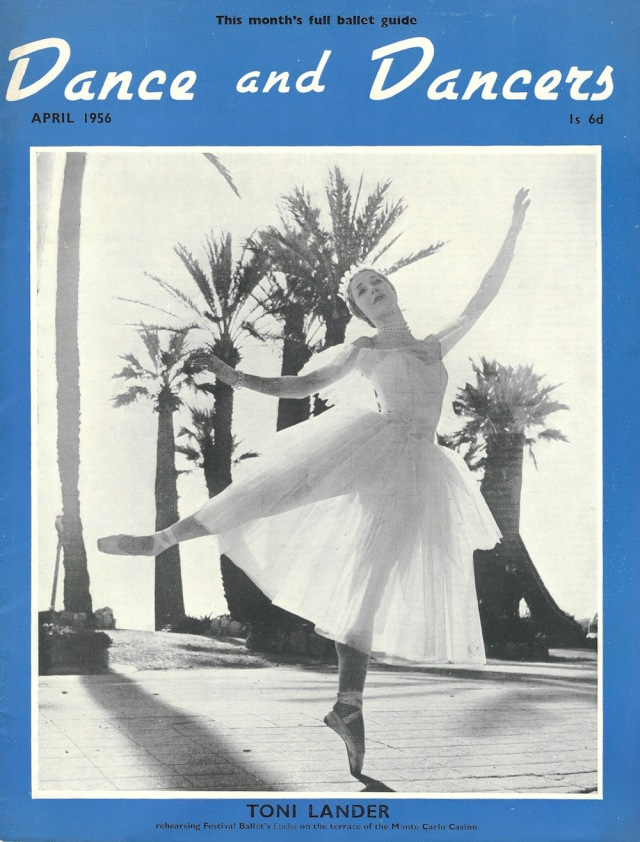Dance and Dancer. April 1956 This month's full ballet Guide Edited by Peter Williams Vol 7 No 3jpeg