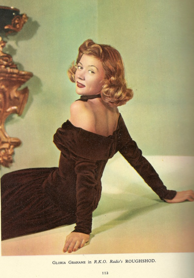 Gloria Grahame in R.K.O Radio's Roughshod from Film Review 1951-2