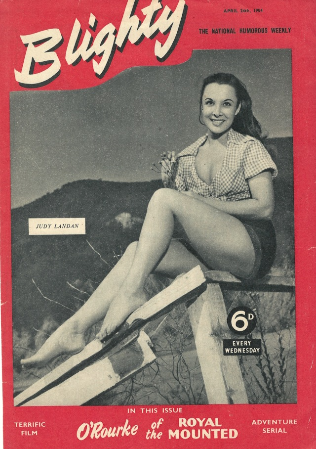 Cover of Blighty The National Humorous Weekly April 24 1954
