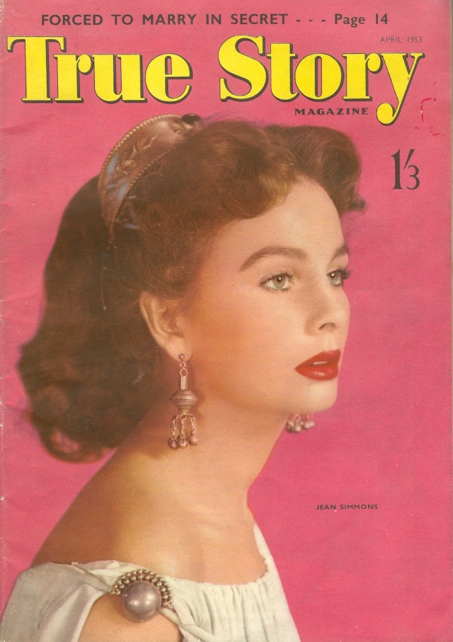 True Story Cover April 1953 No 365Jean Simmons
