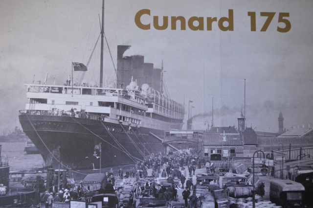 Cunard from the Merseyside Maritime Museum Liverpool May 2017