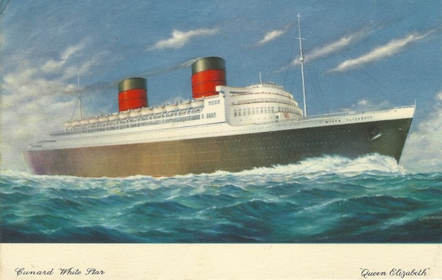 Cunard White Star 'Queen Elizabeth'jpeg