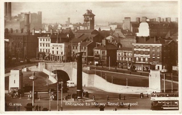 Merseyside Valentine's Post Card G2750
