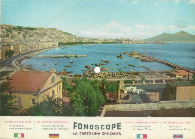 Napoli Mergellina Harbour Funiculi Funicula di Turco Denza canta Corrado Lojacono