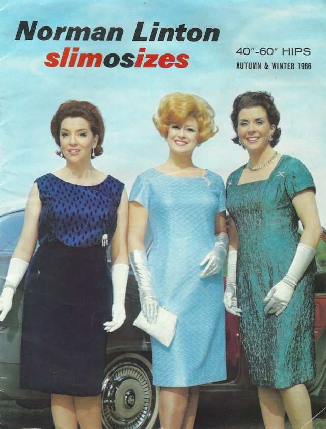 Norman Linton slimosizes 40-60 HIPS Autumn - Winter 1966