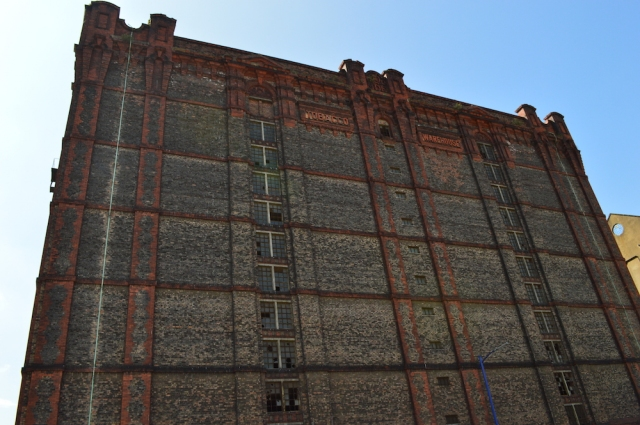 Old Tabacco factory Liverpool May 2017