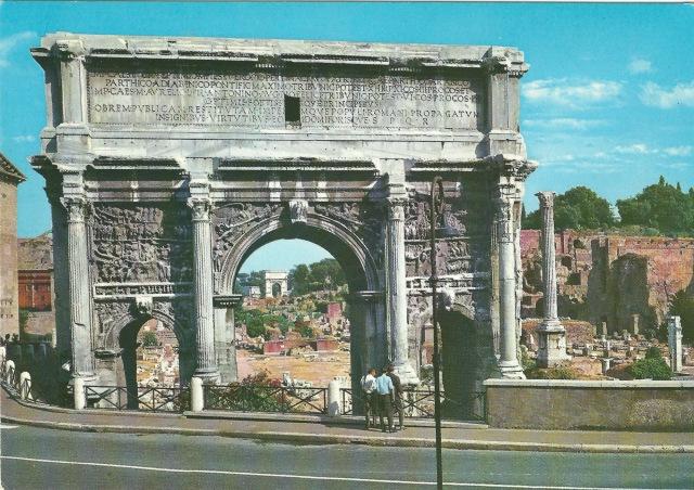 Roma Arco di Setimio Severo (unmarked) Spedisci Qualita