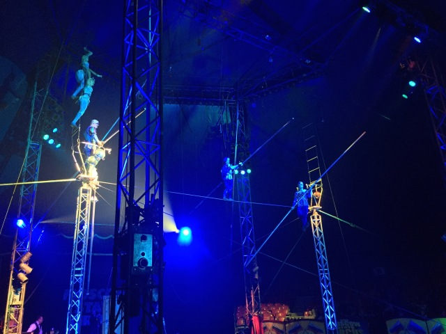 The incredible Moscow State Circus