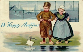 Best Wishes to you from Doris Whittan to Miss Reece in Doncaster December 31 1908