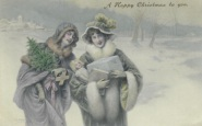 Ethel & Ashley with best wishes from Florence and Nigel Xmas 1908