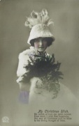 Xmas 1915 Dear Edie Just a card to wish you a Happy Christmas and prosperous New Year with Love from Emilia
