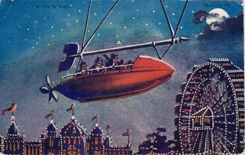 A Fly by Night an Earls Court Exhibition 1904