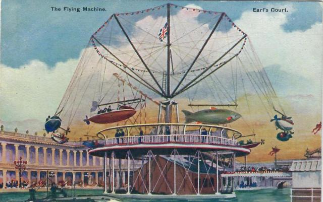 The Flying Machine, Earls Court Italian Exhibition 1904