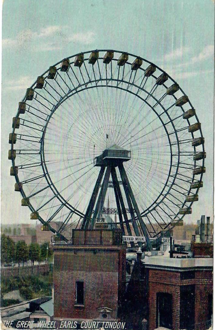 The Great Wheel, Earls Court London 1906