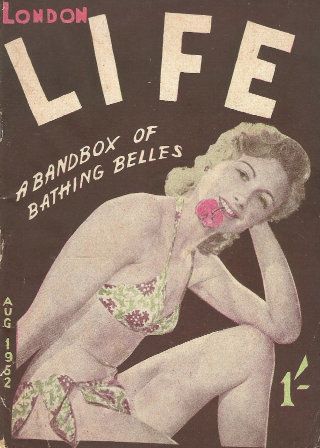 Cover of London Life Magazine August 1952
