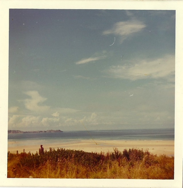 Hayle Beach July 1971 from unknown photograph album