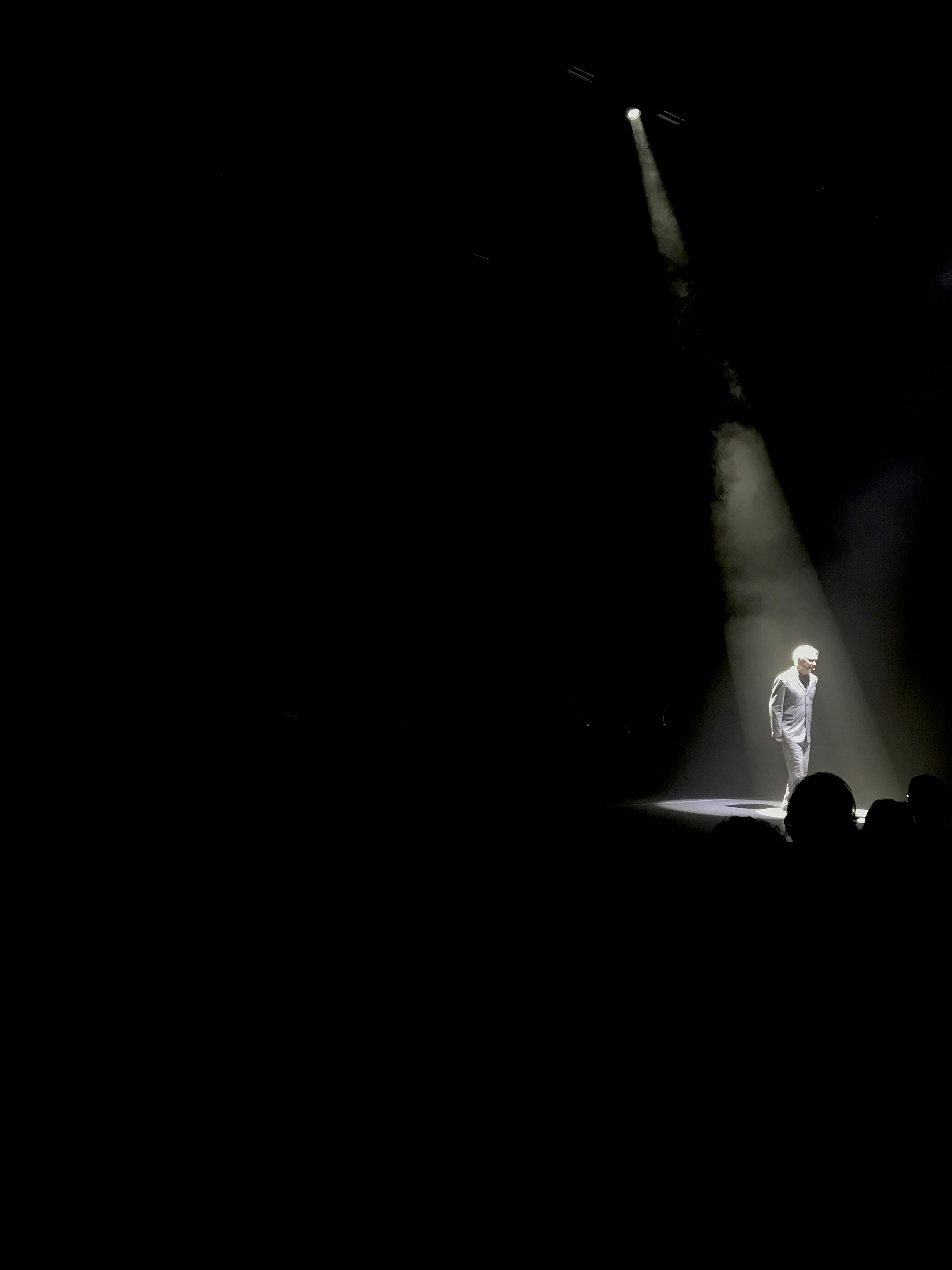 David Byrne at Hammersmith Apollo