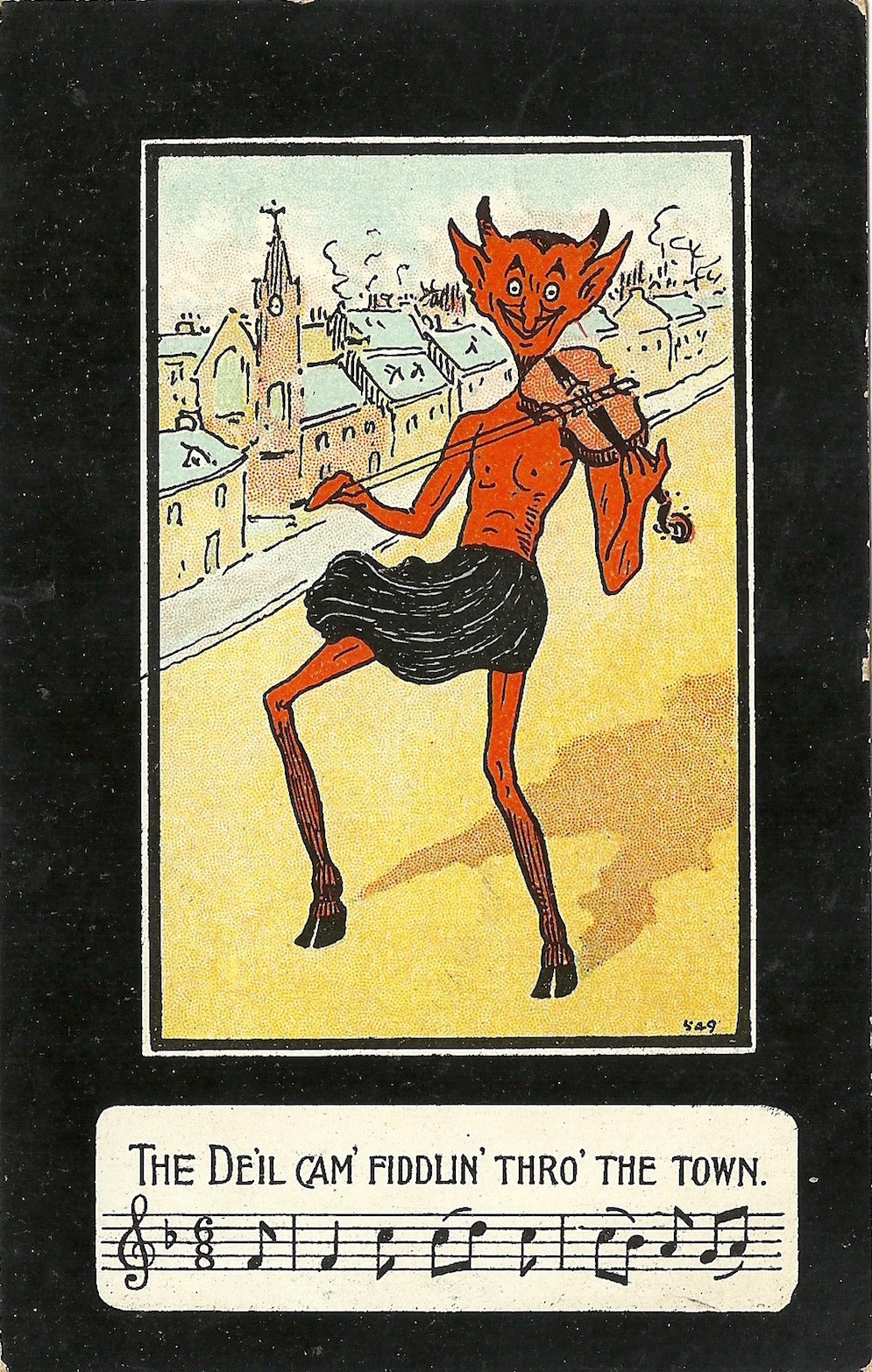Postcard 'Dear Mother hoping you are well' dated 1924 Miller & Lang Ltd