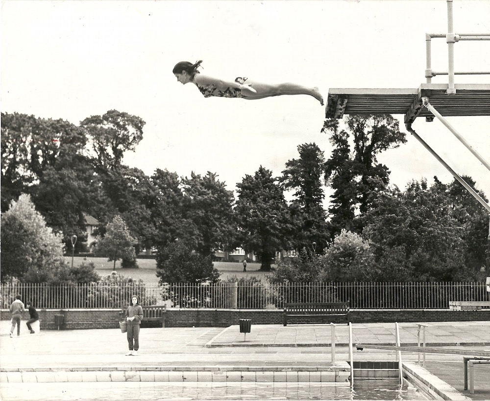 This High Dive is Strictly on the Level Popperfoto 1970 Sports Sunday