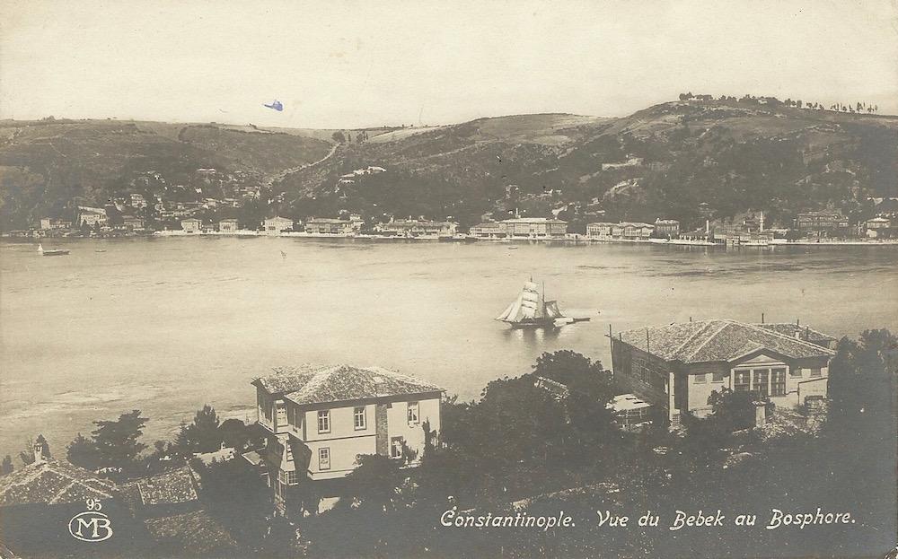 Constantinople Vue du Babek au Bosphore Pour Monsieur Frank Behun United States 1 Jun 1922