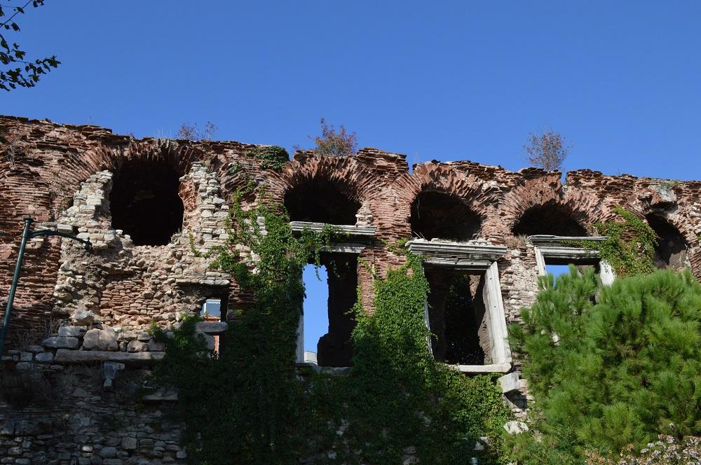 Ruins of the 1610-year-old Byzantine Bukoleon Palace