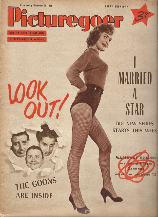 I Married A Star Picturegoer November 26 1955