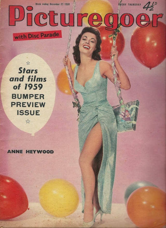 Anne Heywood Picturegoer 27 December 1958