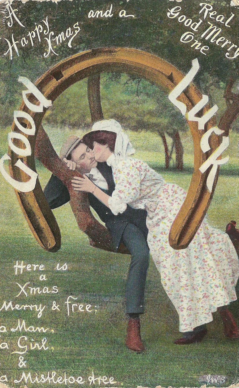 No message Miss Hlen Massey Fiskerton Manor Rolleston J Welch & Sons Portsmouth Dec 24 1908
