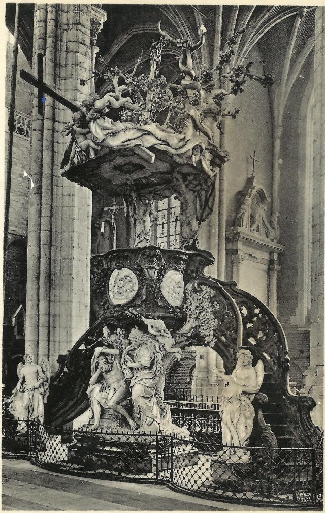 Chaire de Verite Gand Cathedral St -Bavon 1695-1778