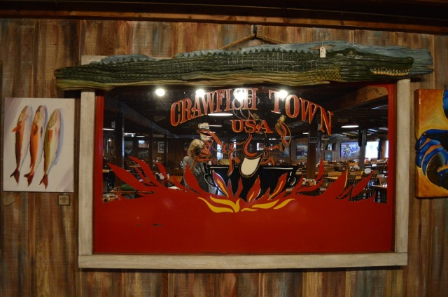 Crawfish Town outside Layfayette