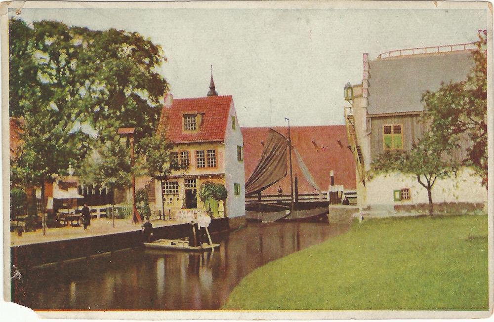 Exposition Internationale et Universeel de Gand 1913 Vielles Flandres