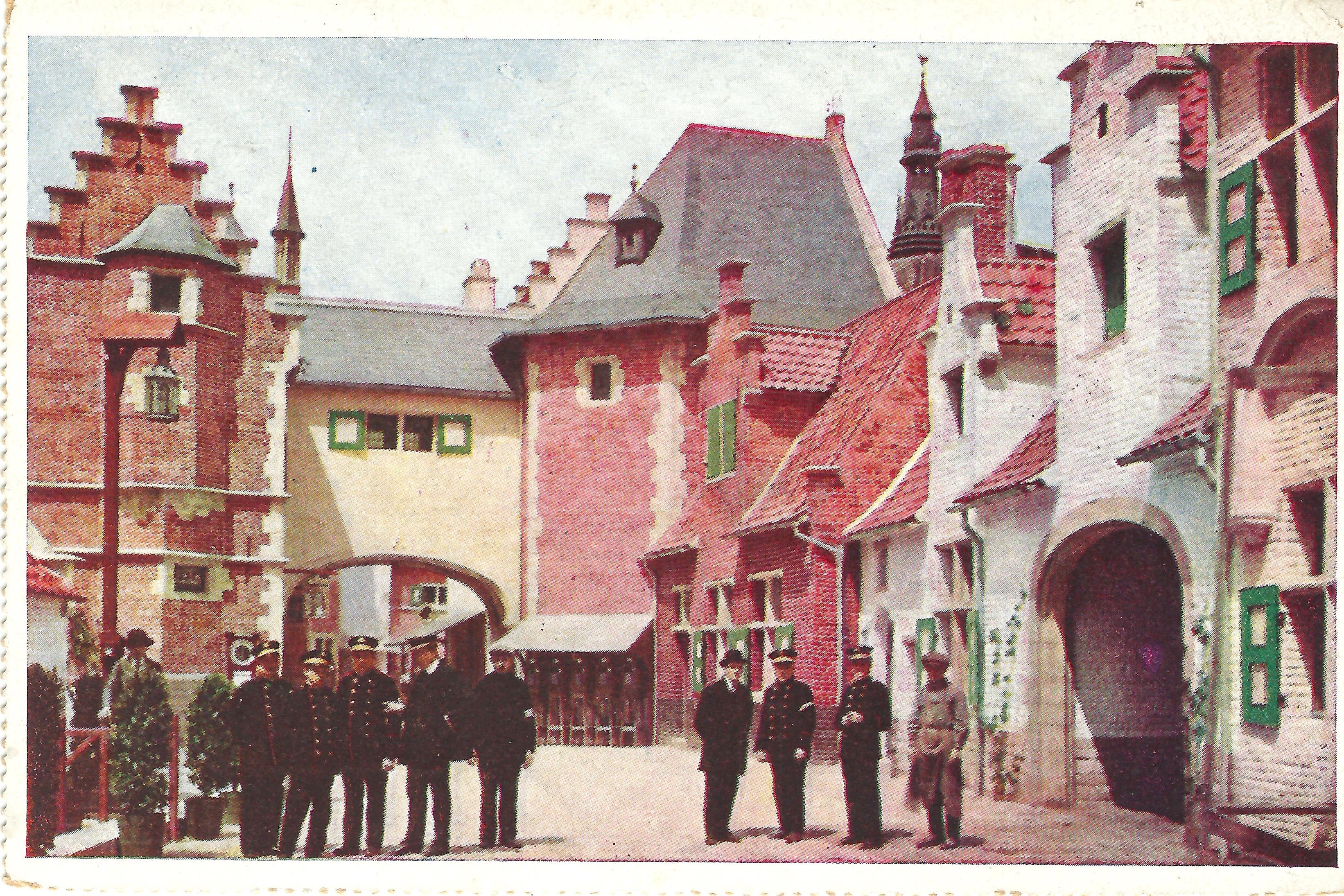 Exposition Internationale et Universelle de Grand 1913 Vieliless Flandres Rossel et Fils, Bruxelles