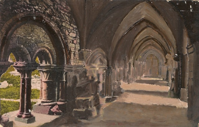 Mme Van Hooren Concierge des Reines de L'Abbaye St Bavo