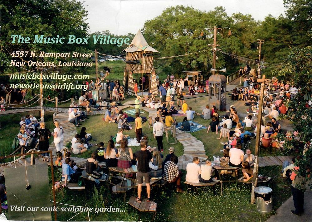 Music Box Village 4557 N. Rampart, New Orleans