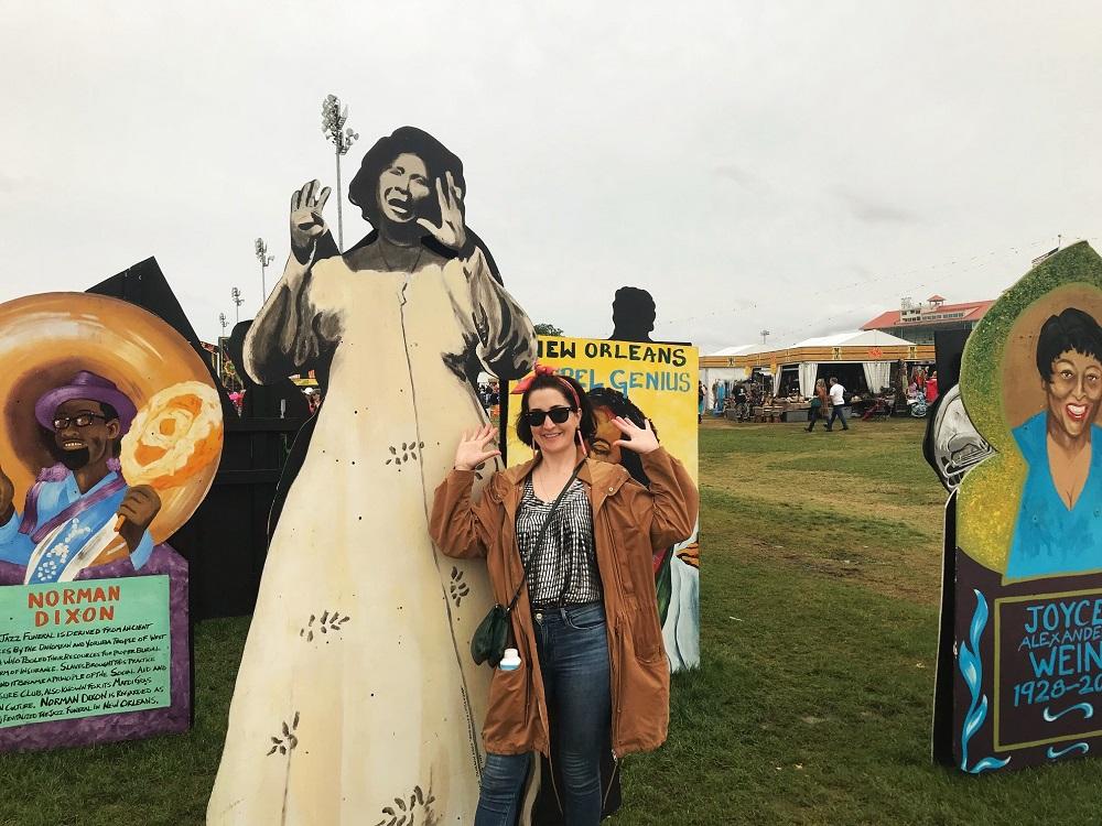Petra with Mahelia Jackson New Orleans Jazz Festival 2019