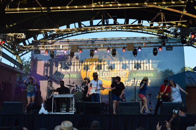 Robert Randolph and the Family Band at Lafayette International Festival April 28 2019