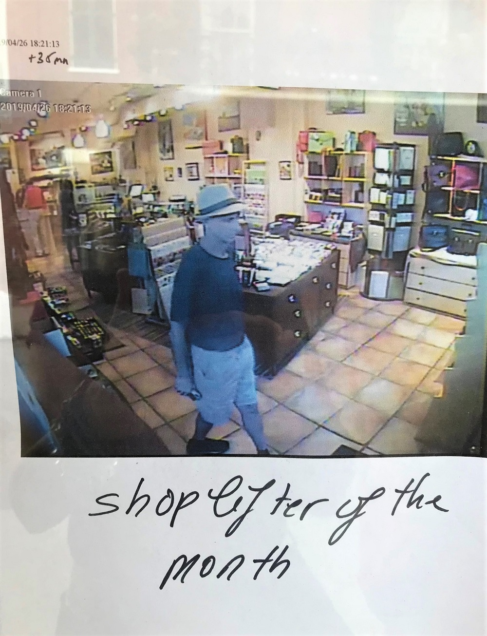 Shoplifter of the Month New Orleans May 2019