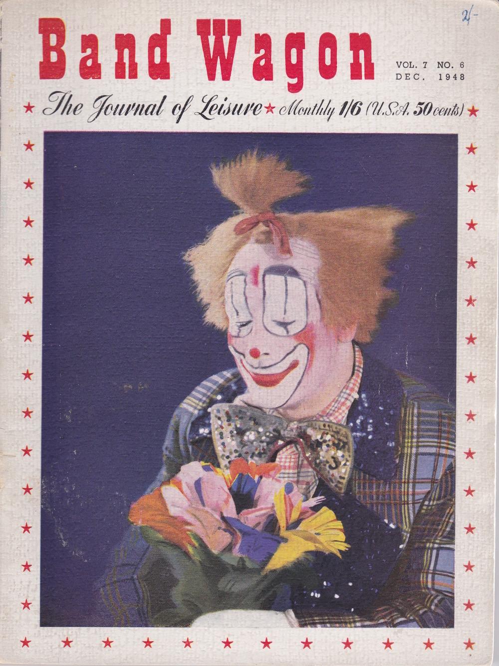 Band Wagon Journal of Leisure Vol 7 No 6 Dec 1948