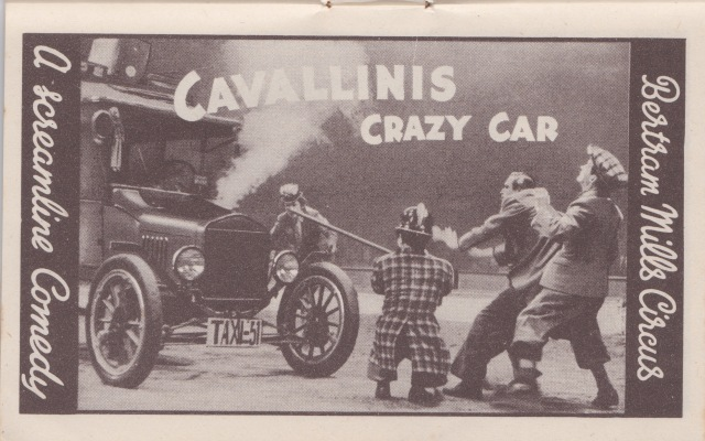 Bertram Mills Circus Dec 17 1948 Cavallini's Crazy Car