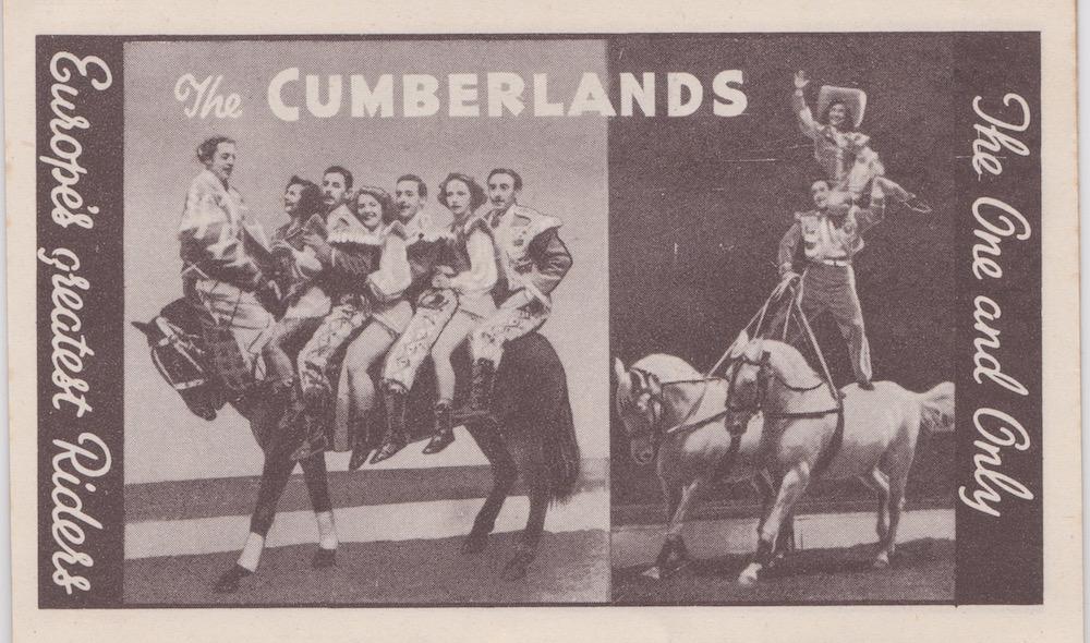 Bertram Mills Circus Dec 17 1948 The Cumberlands