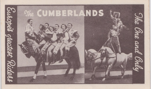 Bertram Mills Circus Dec 17 1948 The Cumberlands