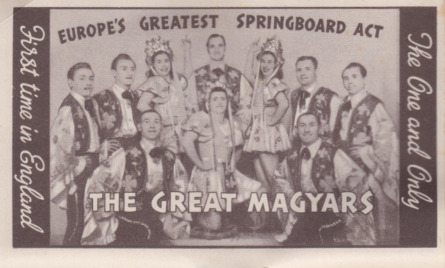 Bertram Mills Circus Dec 17 1948 The Great Magyars